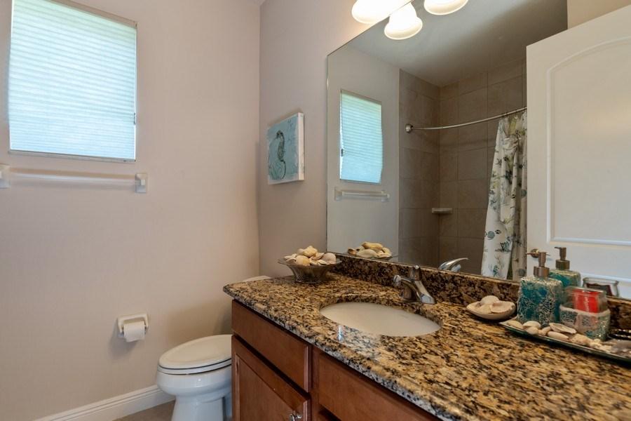 Real Estate Photography - 28460 San Amaro, Bonita Springs, FL, 34135 - 2nd Bathroom
