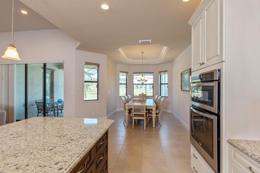 Real Estate Photography - 28460 San Amaro, Bonita Springs, FL, 34135 - Kitchen / Dining Room