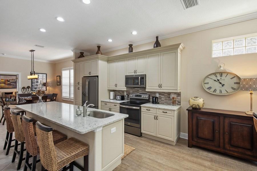 Real Estate Photography - 5081 Kensington High St., Naples, FL, 34105 - Kitchen
