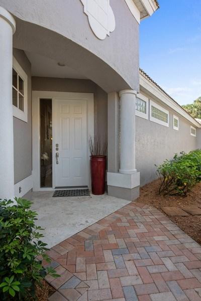 Real Estate Photography - 5081 Kensington High St., Naples, FL, 34105 - Entrance