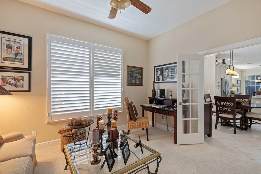 Real Estate Photography - 5081 Kensington High St., Naples, FL, 34105 - Den