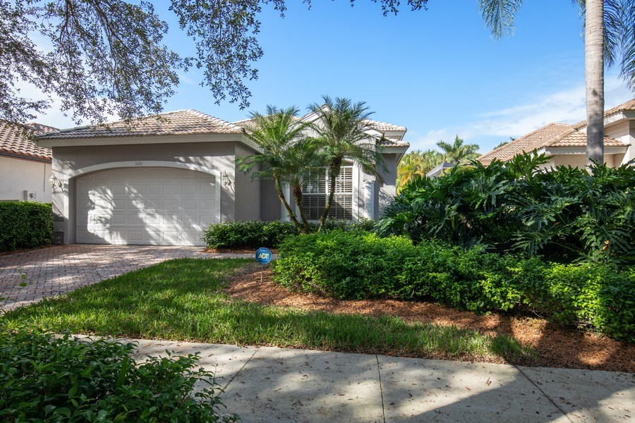 Real Estate Photography - 5081 Kensington High St., Naples, FL, 34105 - Front View