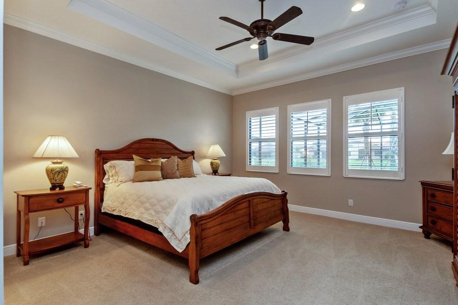 Real Estate Photography - 4572 Tamarind Way, (Raffia Preserve), Naples, FL, 34119 - Master Bedroom