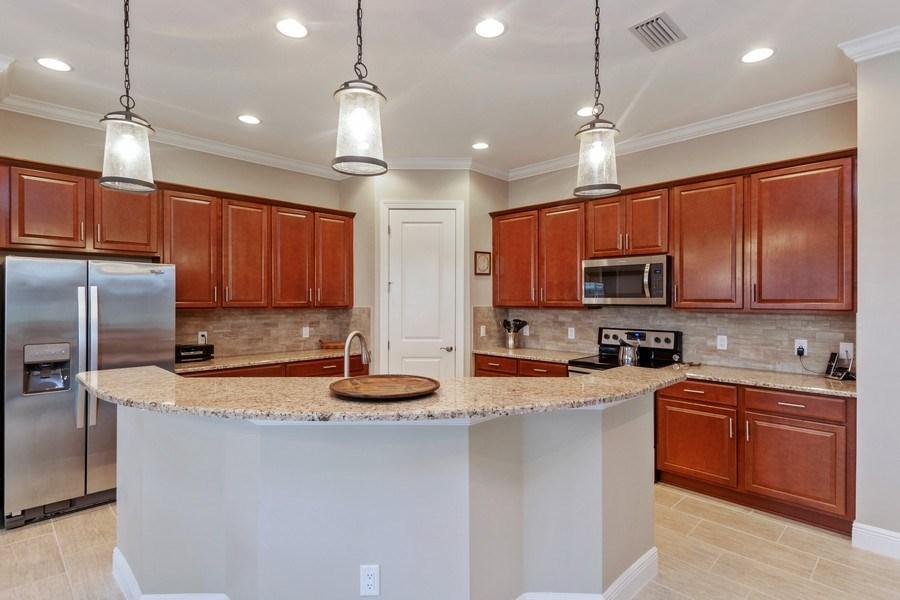 Real Estate Photography - 4572 Tamarind Way, (Raffia Preserve), Naples, FL, 34119 - Kitchen