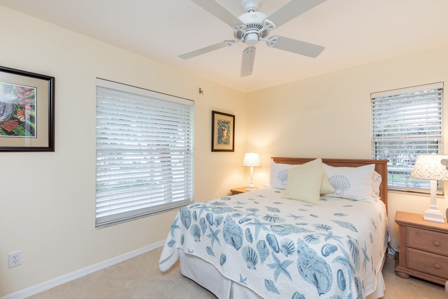 Real Estate Photography - 132 Pebble Shores Drive #201, Naples, FL, 34110 - 2nd Bedroom