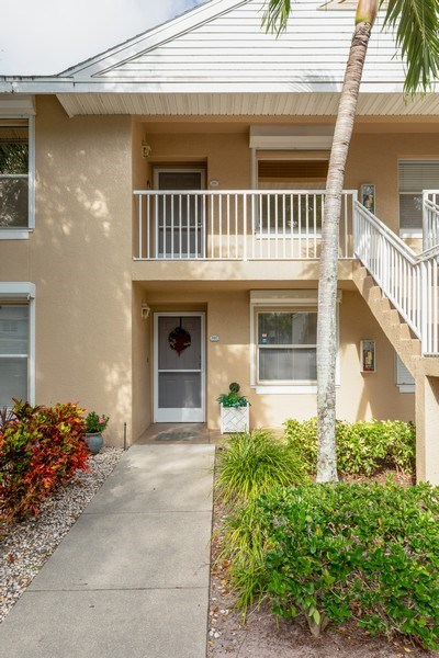 Real Estate Photography - 132 Pebble Shores Drive #201, Naples, FL, 34110 - Front View