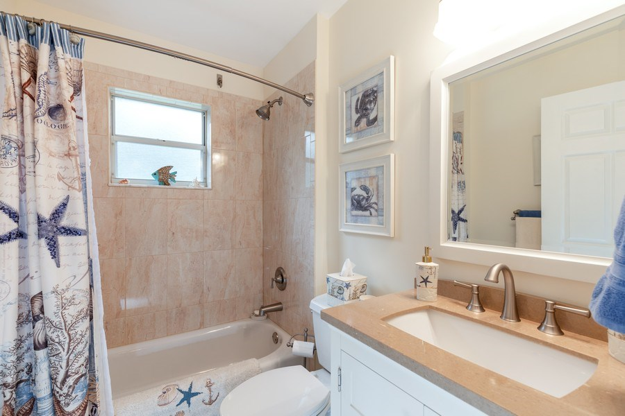 Real Estate Photography - 132 Pebble Shores Drive #201, Naples, FL, 34110 - 2nd Bathroom
