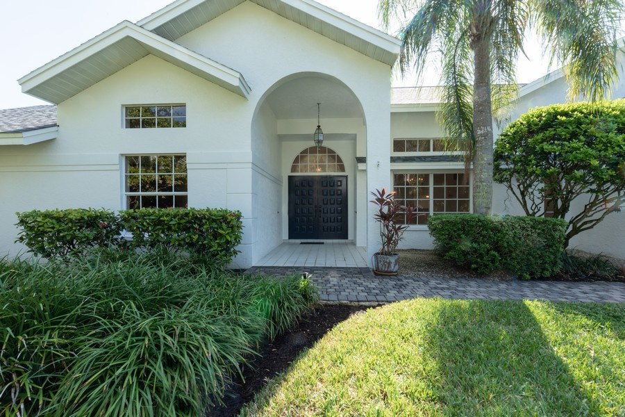Real Estate Photography - 1918 Imperial Golf Course Blvd., Naples, FL, 34110 - Entrance