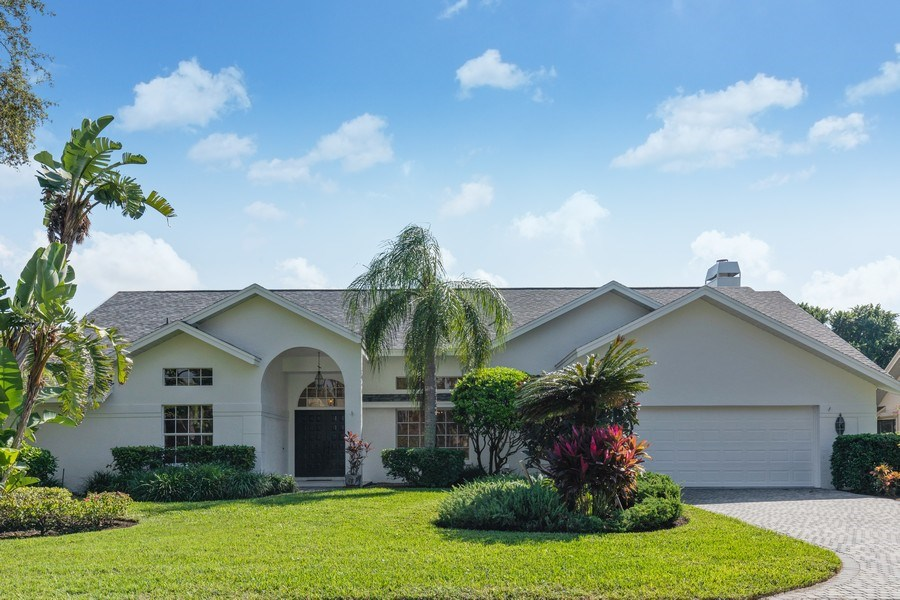 Real Estate Photography - 1918 Imperial Golf Course Blvd., Naples, FL, 34110 - Front View