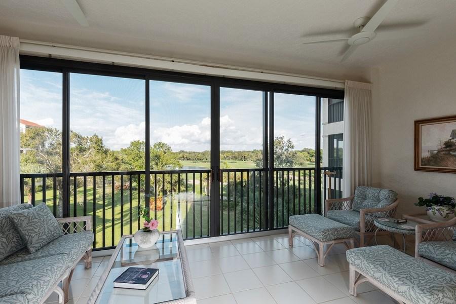 Real Estate Photography - 7008 Pelican Bay Blvd, Unit H305, Naples, FL, 34108 - View