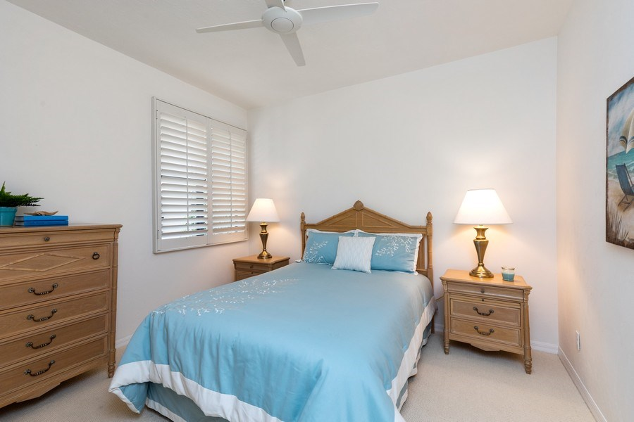 Real Estate Photography - 7008 Pelican Bay Blvd, Unit H305, Naples, FL, 34108 - 2nd Bedroom