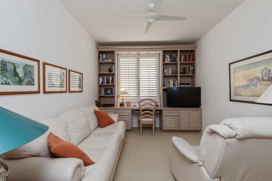Real Estate Photography - 7008 Pelican Bay Blvd, Unit H305, Naples, FL, 34108 - Study