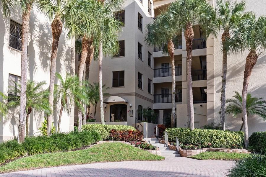 Real Estate Photography - 7008 Pelican Bay Blvd, Unit H305, Naples, FL, 34108 - Front View
