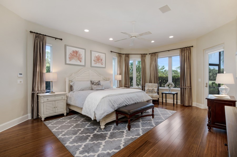 Real Estate Photography - 25011 Pennyroyal Dr, Bonita Springs, FL, 34134 - Master Bedroom