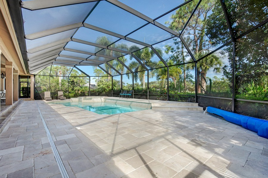Real Estate Photography - 25011 Pennyroyal Dr, Bonita Springs, FL, 34134 - Pool