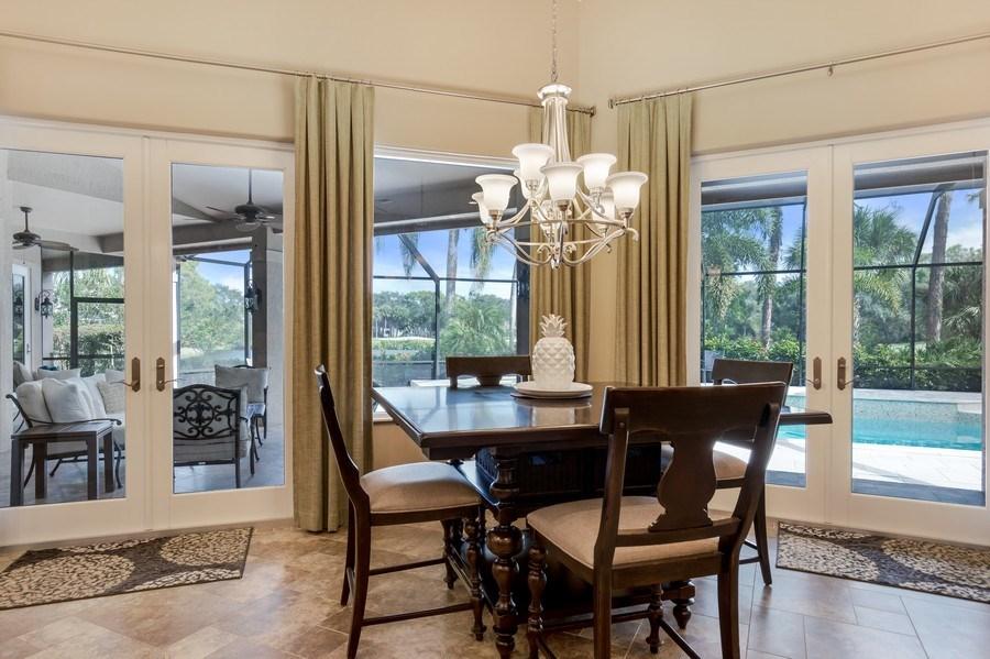 Real Estate Photography - 25011 Pennyroyal Dr, Bonita Springs, FL, 34134 - Breakfast Area