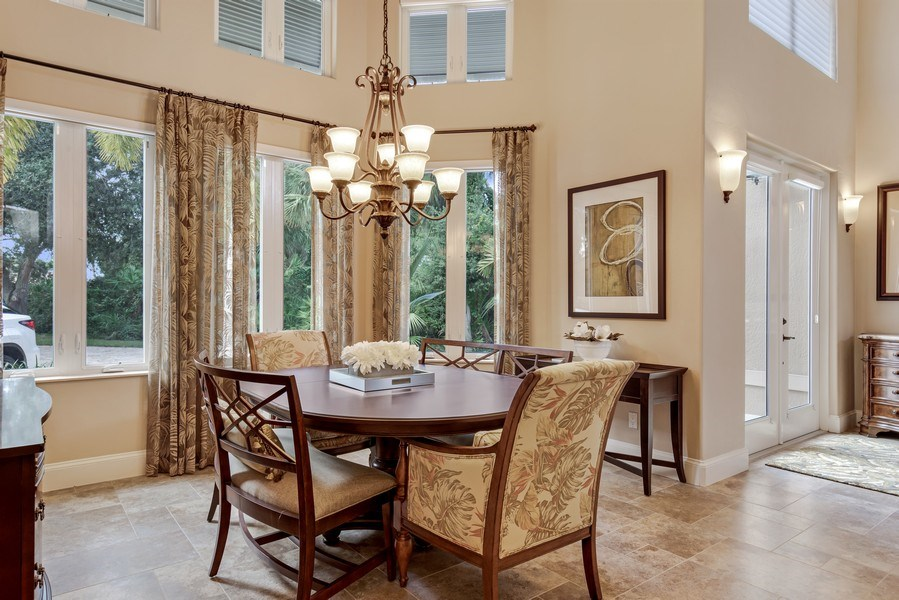 Real Estate Photography - 25011 Pennyroyal Dr, Bonita Springs, FL, 34134 - Dining Area 2