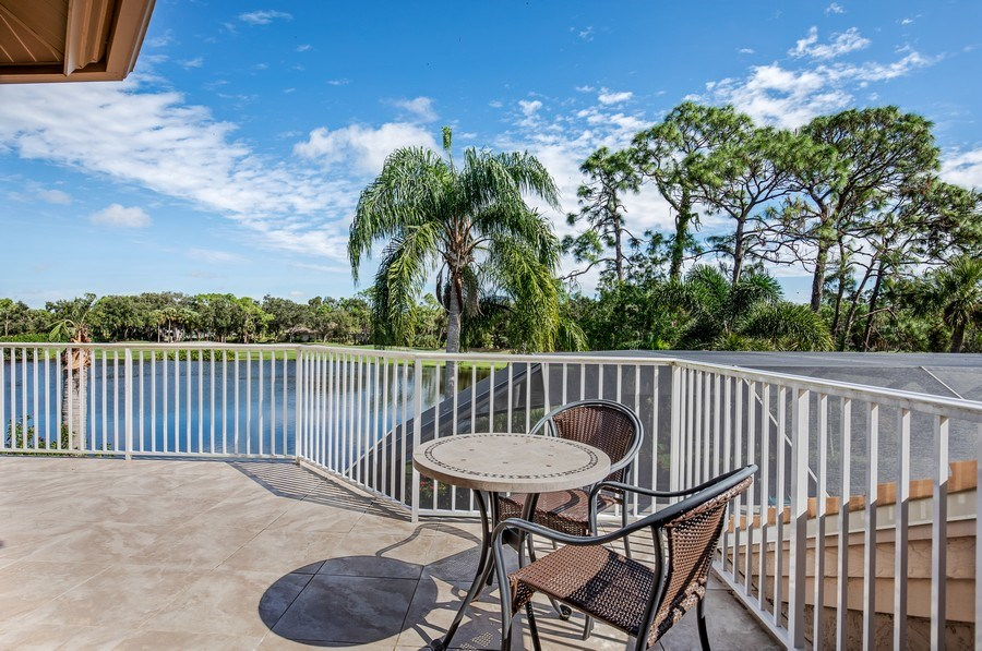 Real Estate Photography - 25011 Pennyroyal Dr, Bonita Springs, FL, 34134 - Balcony