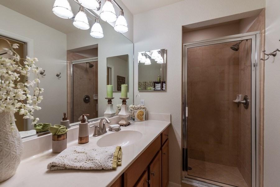 Real Estate Photography - 10317 Heritage Bay Blvd, Unit 1427, Naples, FL, 34120 - Master Bathroom