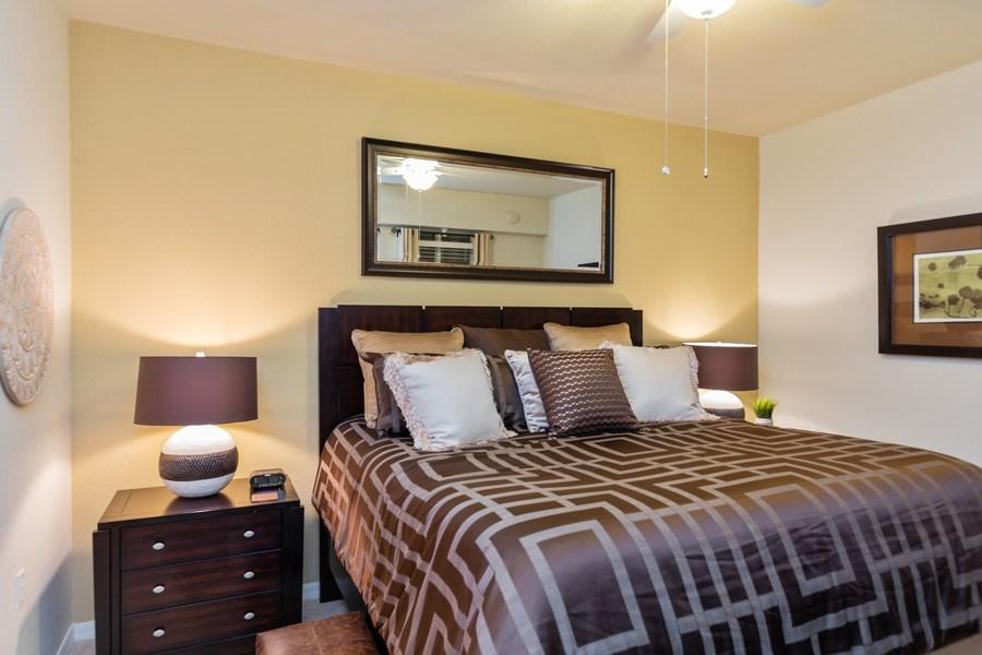 Real Estate Photography - 10317 Heritage Bay Blvd, Unit 1427, Naples, FL, 34120 - Master Bedroom