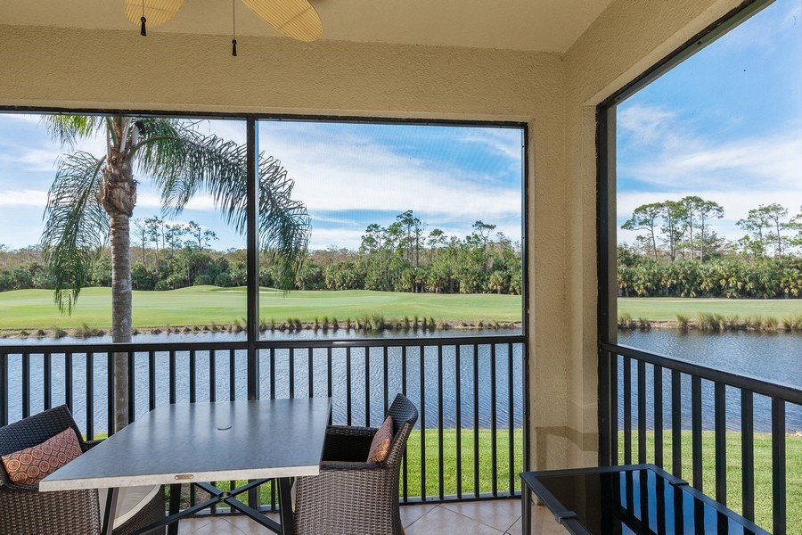 Real Estate Photography - 10317 Heritage Bay Blvd, Unit 1427, Naples, FL, 34120 - View