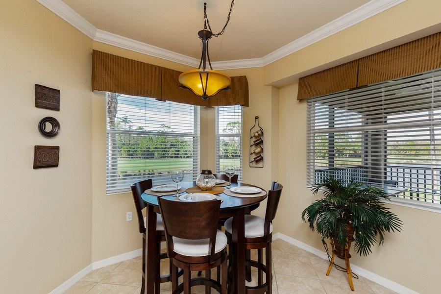 Real Estate Photography - 10317 Heritage Bay Blvd, Unit 1427, Naples, FL, 34120 - Breakfast Area
