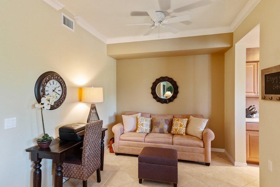 Real Estate Photography - 10317 Heritage Bay Blvd, Unit 1427, Naples, FL, 34120 - Den