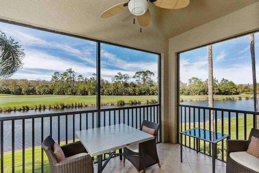 Real Estate Photography - 10317 Heritage Bay Blvd, Unit 1427, Naples, FL, 34120 - Lanai