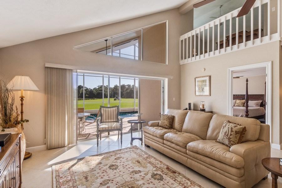 Real Estate Photography - 1542 Weybridge Cir, Naples, FL, 34110 - Living Room