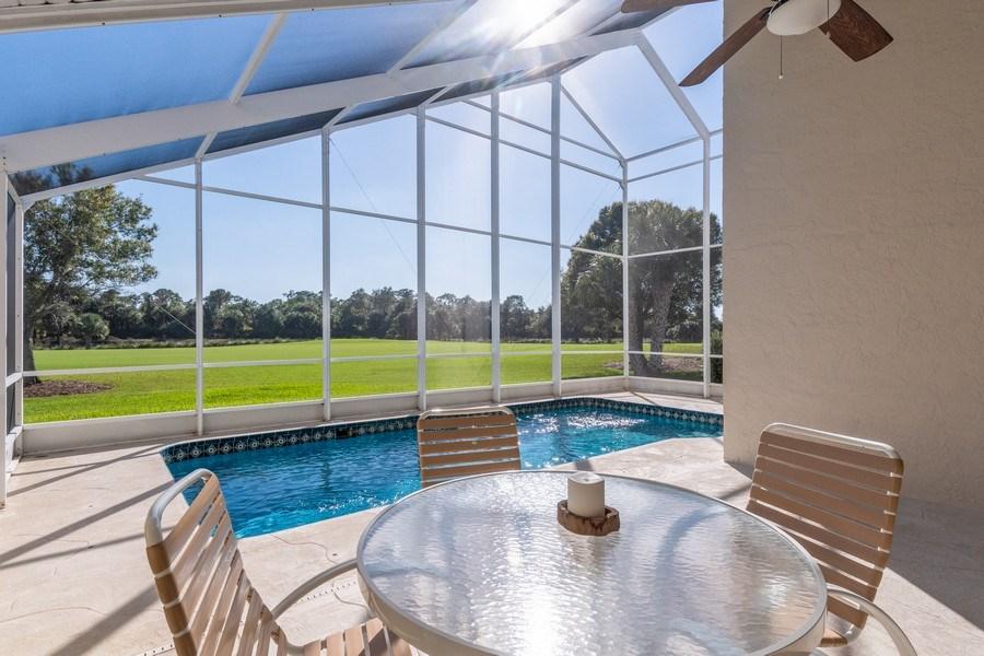 Real Estate Photography - 1542 Weybridge Cir, Naples, FL, 34110 - Pool