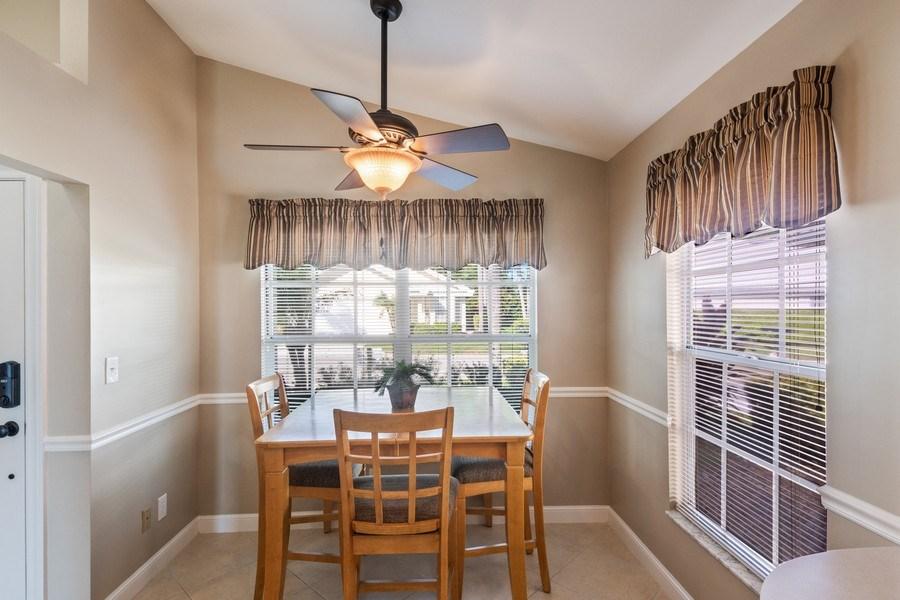 Real Estate Photography - 1542 Weybridge Cir, Naples, FL, 34110 - Dining Area