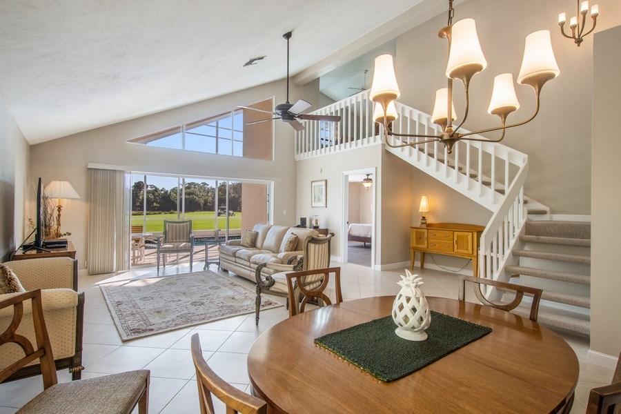 Real Estate Photography - 1542 Weybridge Cir, Naples, FL, 34110 - Living Room / Dining Room