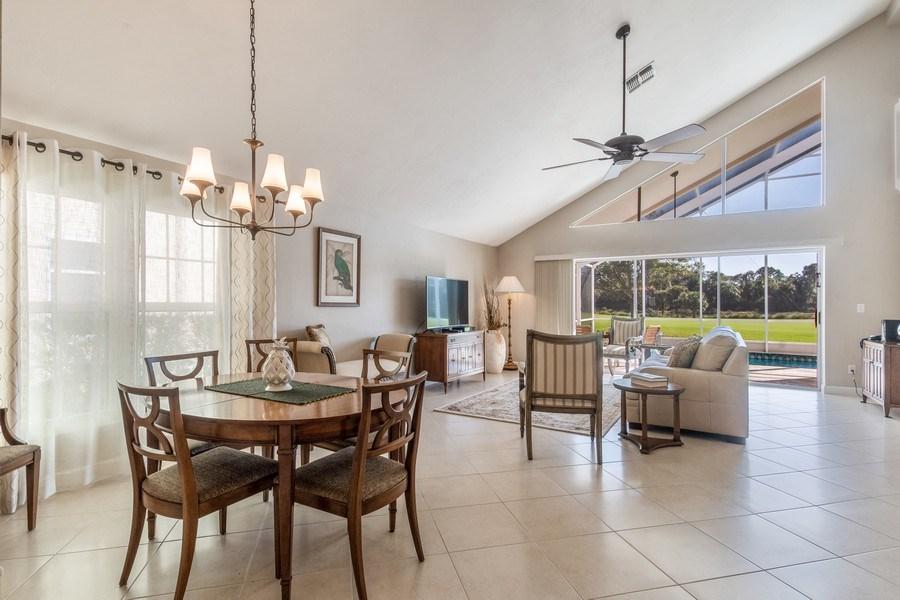 Real Estate Photography - 1542 Weybridge Cir, Naples, FL, 34110 - Living Room/Dining Room