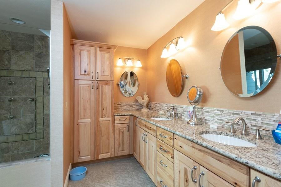 Real Estate Photography - 411 Edgemere way North, Naples, FL, 34105 - Master Bathroom
