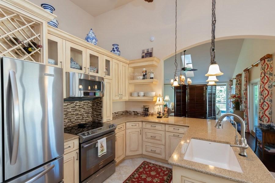 Real Estate Photography - 411 Edgemere way North, Naples, FL, 34105 - Kitchen