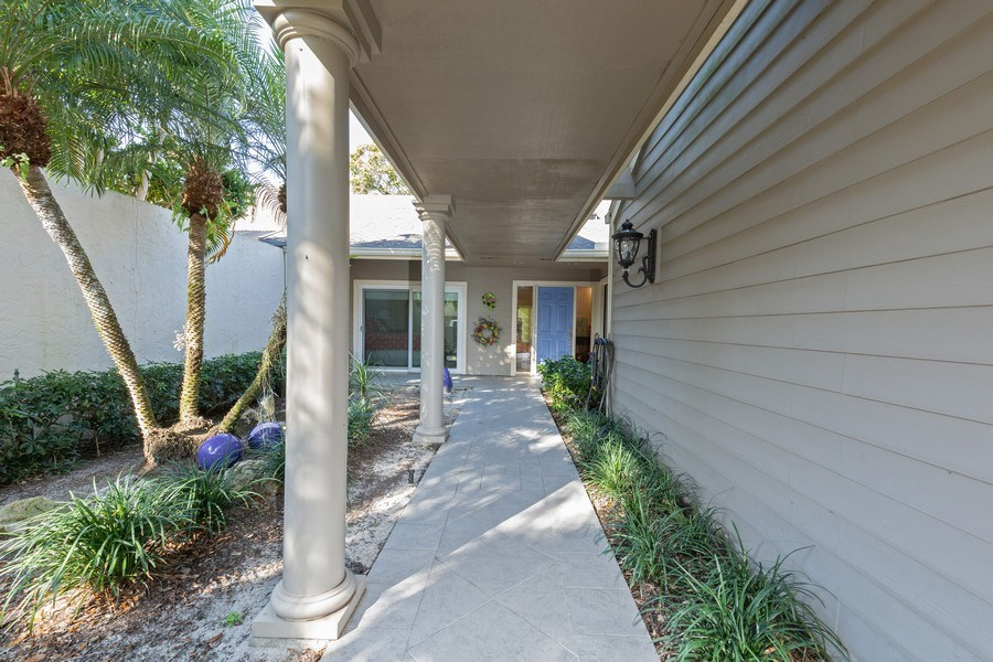 Real Estate Photography - 411 Edgemere way North, Naples, FL, 34105 - Entrance