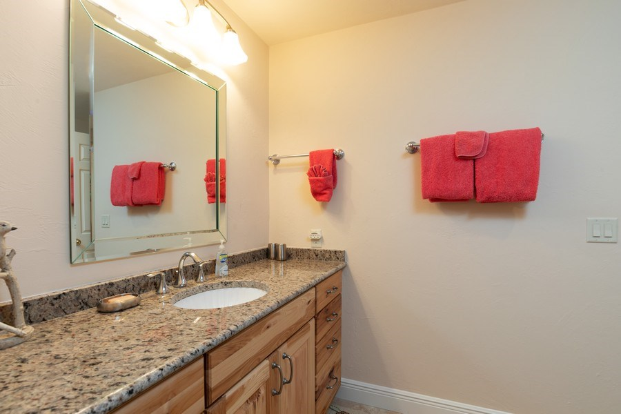 Real Estate Photography - 411 Edgemere way North, Naples, FL, 34105 - 2nd Bathroom
