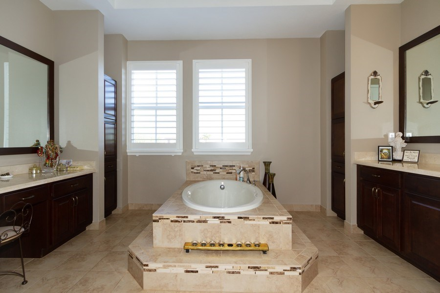 Real Estate Photography - 5161 Roma Street, Ave Maria, FL, 34142 - Master Bathroom