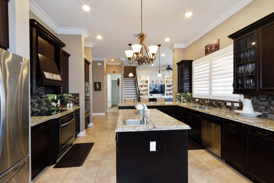 Real Estate Photography - 5161 Roma Street, Ave Maria, FL, 34142 - Kitchen