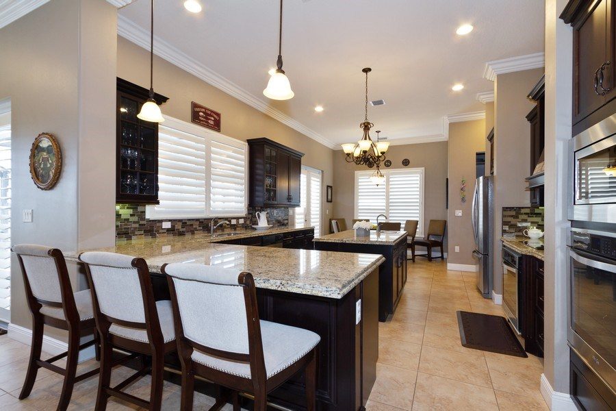 Real Estate Photography - 5161 Roma Street, Ave Maria, FL, 34142 - Kitchen / Breakfast Room