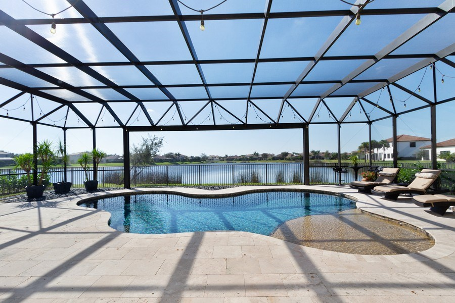 Real Estate Photography - 5161 Roma Street, Ave Maria, FL, 34142 - Pool