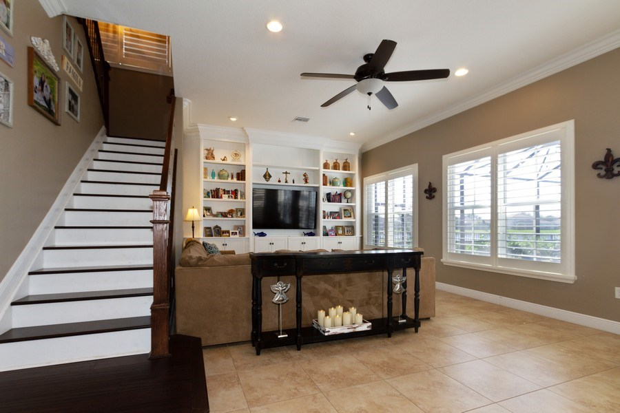 Real Estate Photography - 5161 Roma Street, Ave Maria, FL, 34142 - Family Room