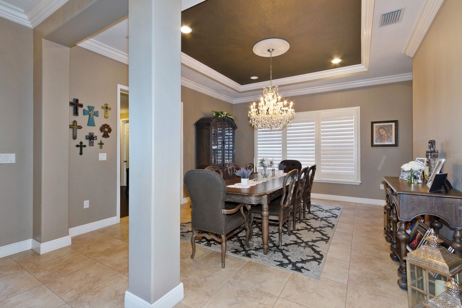 Real Estate Photography - 5161 Roma Street, Ave Maria, FL, 34142 - Dining Room