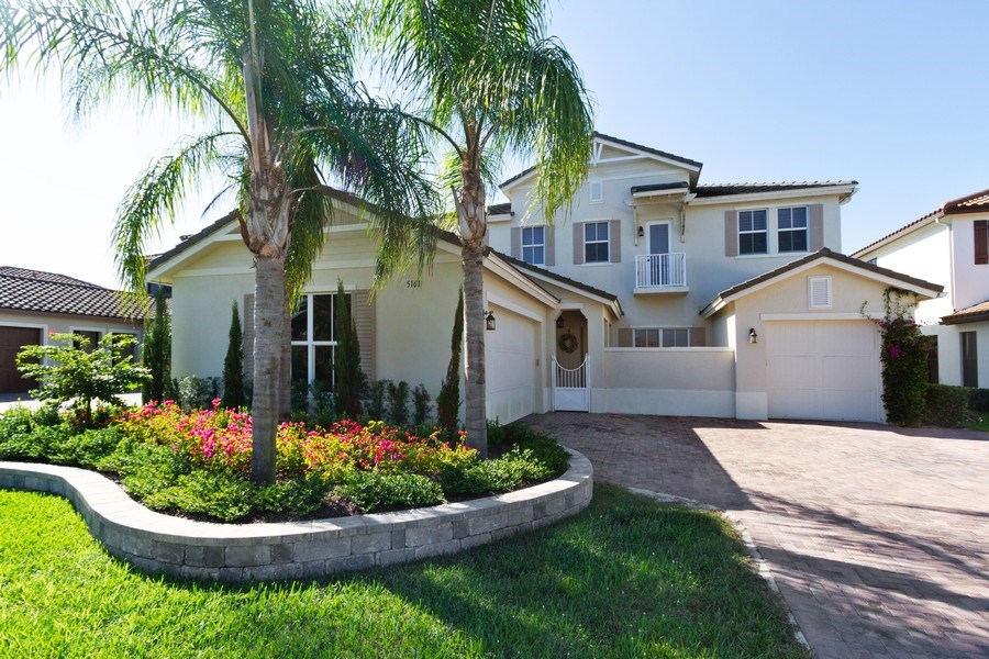 Real Estate Photography - 5161 Roma Street, Ave Maria, FL, 34142 - Front View