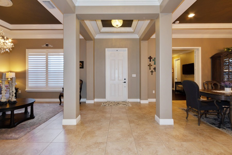 Real Estate Photography - 5161 Roma Street, Ave Maria, FL, 34142 - Grand Entrance