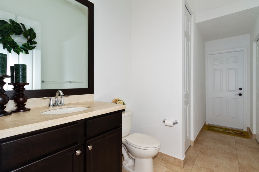Real Estate Photography - 5161 Roma Street, Ave Maria, FL, 34142 - Half Bath