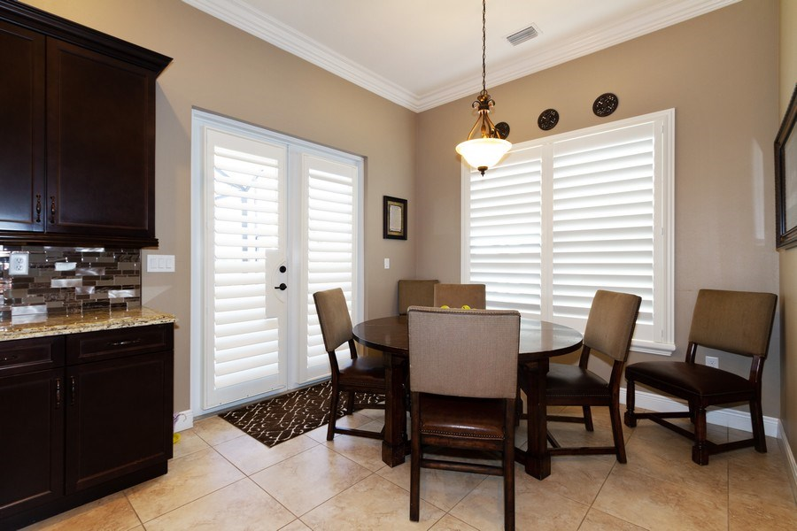 Real Estate Photography - 5161 Roma Street, Ave Maria, FL, 34142 - Breakfast Nook