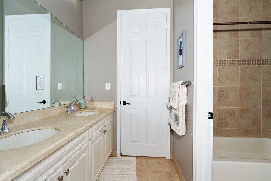 Real Estate Photography - 5161 Roma Street, Ave Maria, FL, 34142 - 2nd Bathroom