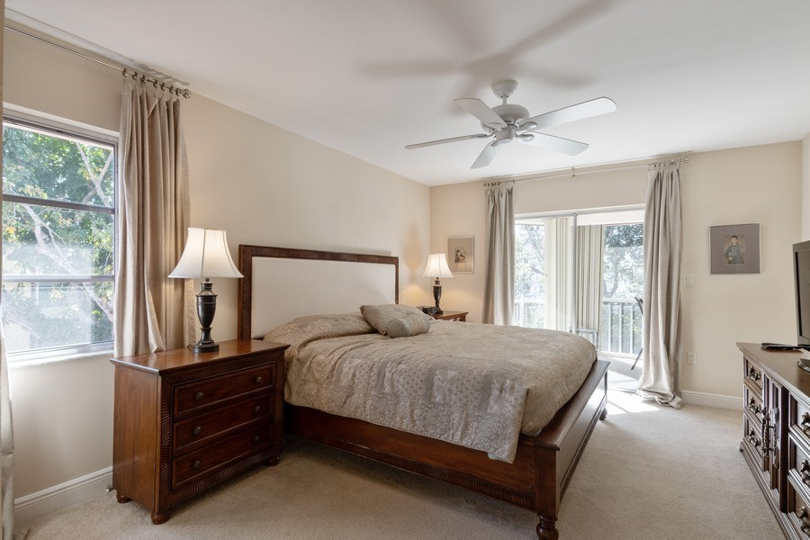Real Estate Photography - 3200 Binnacle Drive, F3, Naples, FL, 34103 - Master Bedroom
