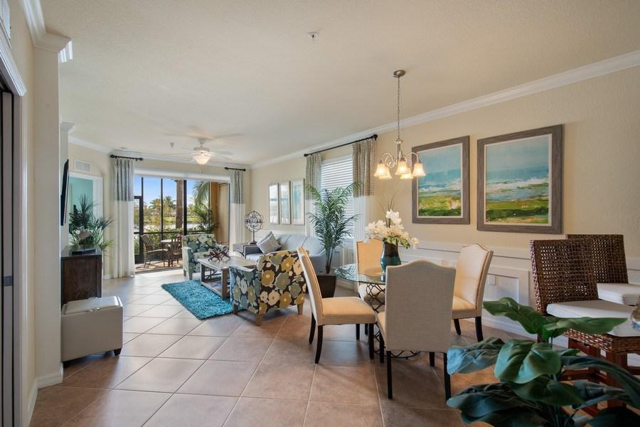 Real Estate Photography - 17921 Bonita National Blvd, 218, Bonita Springs,, FL, 34135 - Living Room